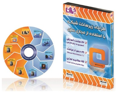 آموزش نرم افزار vmware workstation VMware Workstation 7.1