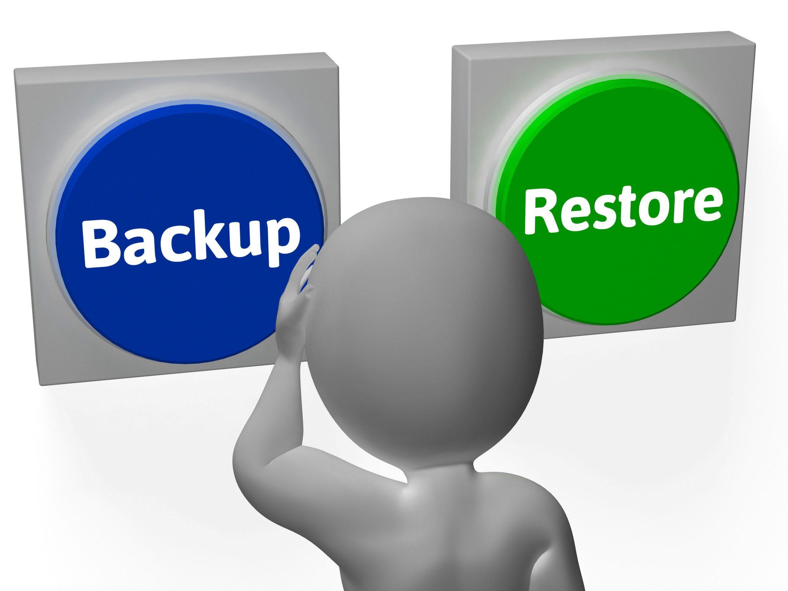 معرفی، استفاده و پیکره بندی قابلیت Backup & Restore