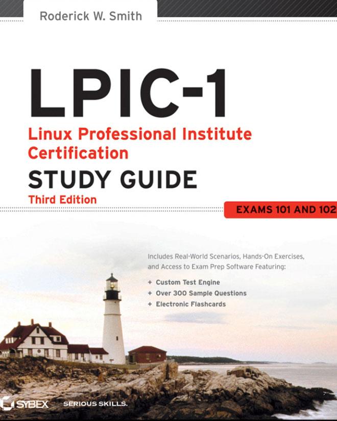 جلد کتاب LPIC1