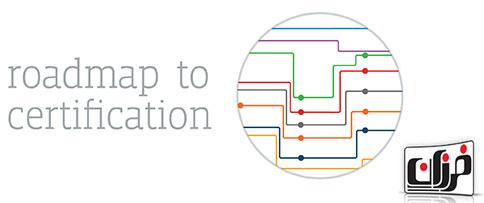 دانلود نقشه راه علاقه مندان به دوره های تخصصی مدارک مایکروسافت