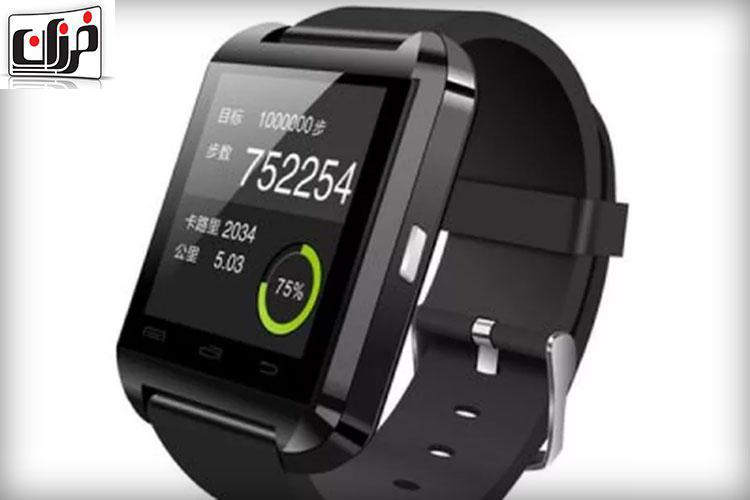 ساعت هوشمند ۷ دلاری U8 | ساعت هوشمند ارزان | ساعت با سیستم عامل اندرویدی