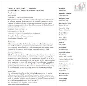 PDF رایگان کتاب LPIC-1 Cert Guide | دانلود کتاب (CompTIA Linux+ / LPIC-1 Cert Guide) | دانلود پی دی اف رایگان LPIC-1 Cert Guide PDF | LPIC-1 Cert Guide
