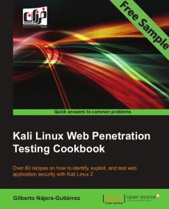 kali-linux-web-penetration-testing-cookbook-sample-chapter-