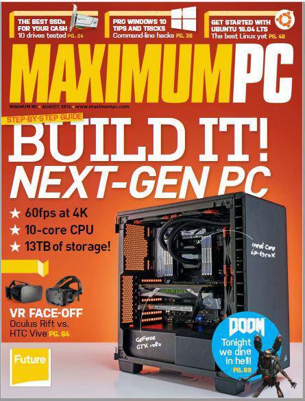 دانلود کتاب الکترونیک Maximum PC – August 2016