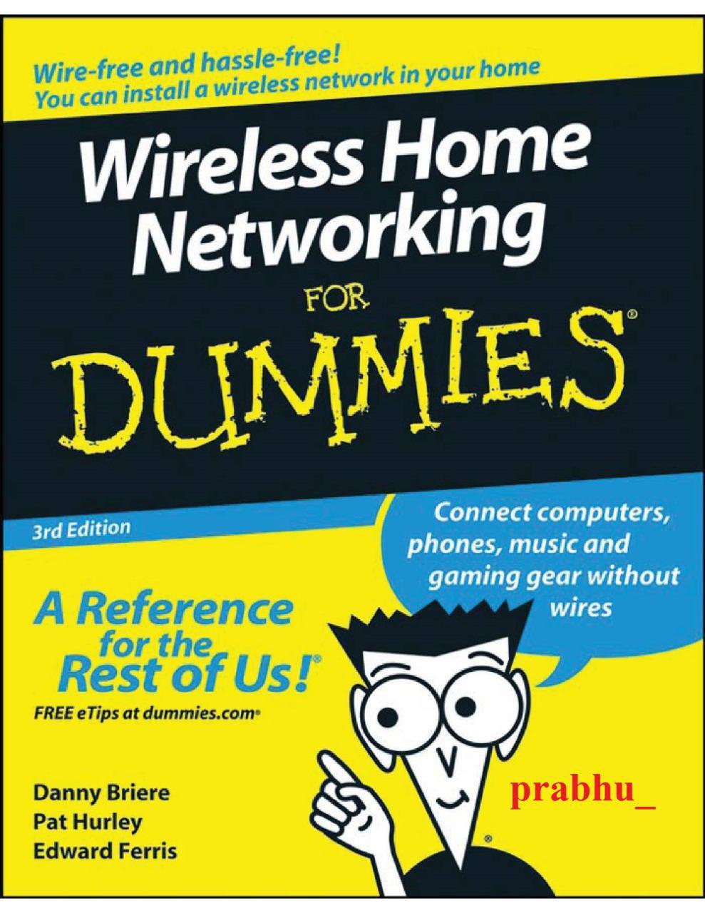 PDF رایگان کتاب Wireless Home Networking For Dum | دانلود کتاب Wireless Home Networking For Dum | دانلود رایگان پی دی اف Wireless Home Networking For Dum