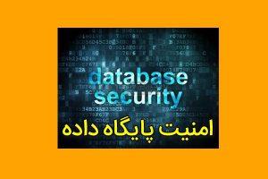 امنیت پایگاه داده ها (Database Security)