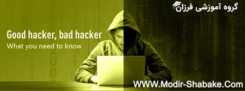 بررسی مفهوم هک و هکر