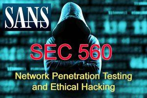 دوره حرفه ای تست نفوذ SANS Sec 560